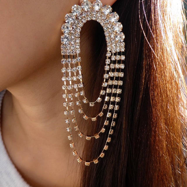 Crystal Kammie Earrings
