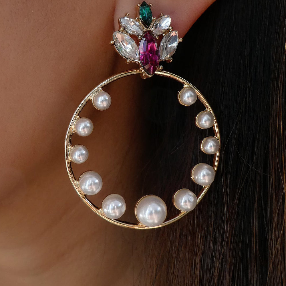 Nellie Pearl Earrings