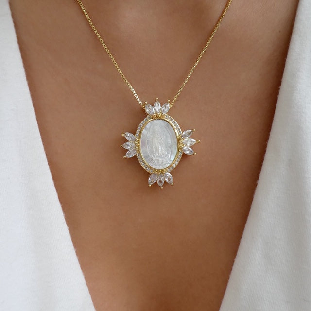 Dalia Mary Coin Necklace