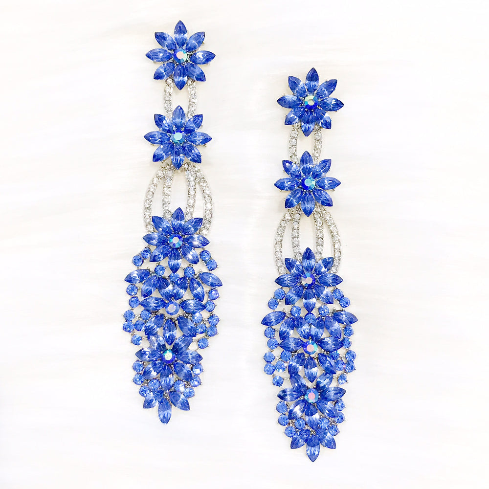 Blue Addina Earrings