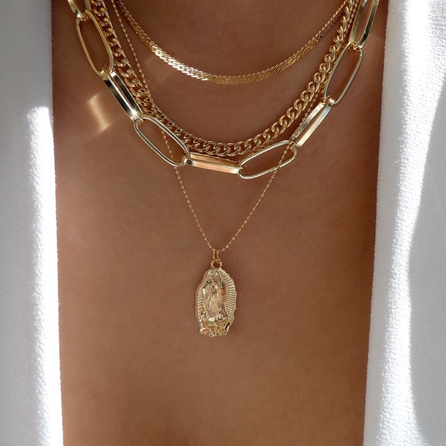 Talitha Coin Necklace