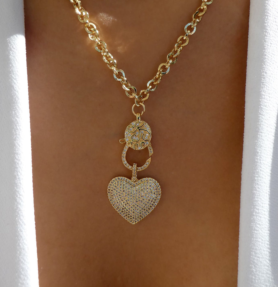 Este Heart Necklace