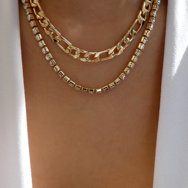 Princeton Chain Necklace Set