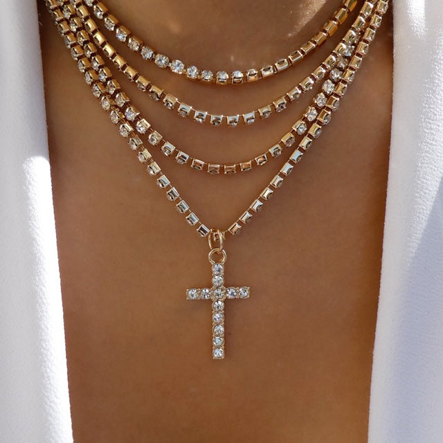 Kaiden Cross Necklace