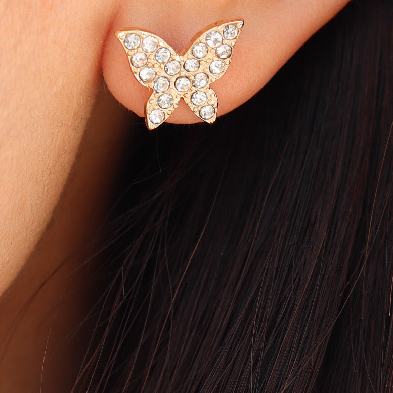 Nida Butterfly Earrings