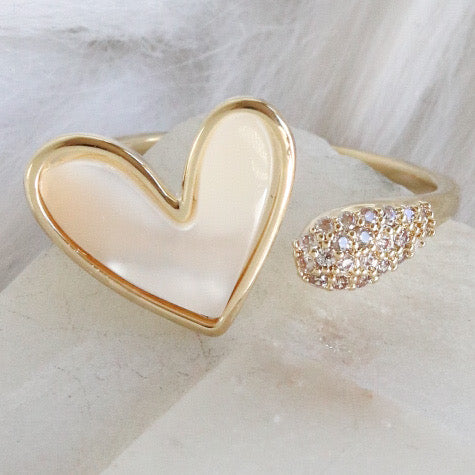Monet Heart Ring