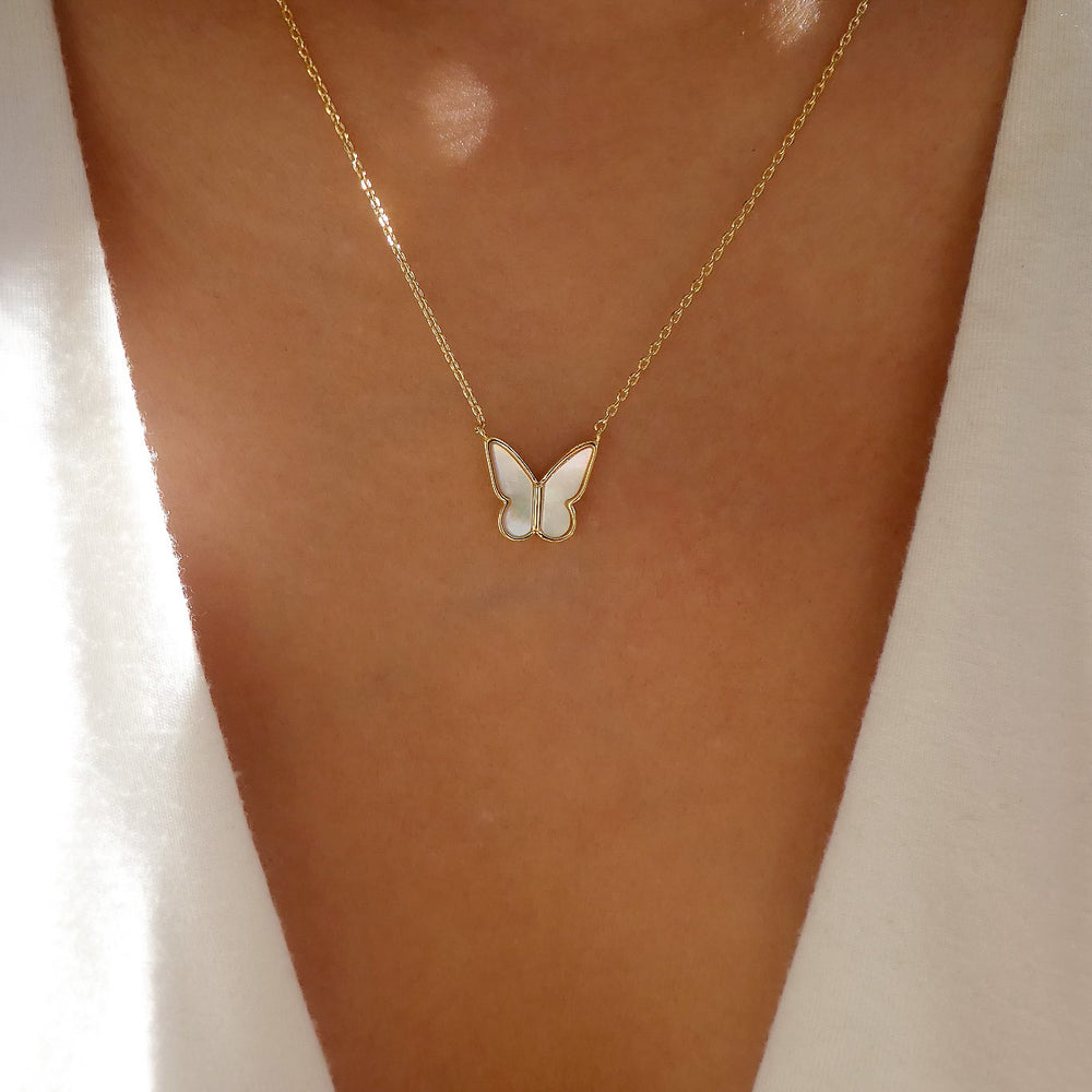 Roni Butterfly Necklace