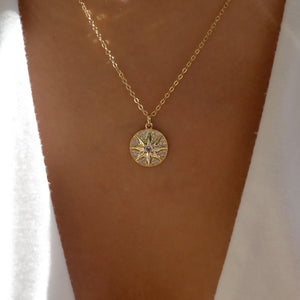 Crystal Conway Coin Necklace