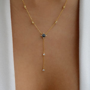 18K Black Ryan Necklace