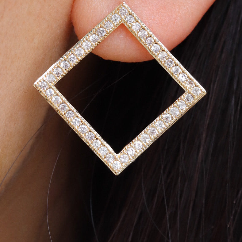 Crystal Chantal Earrings
