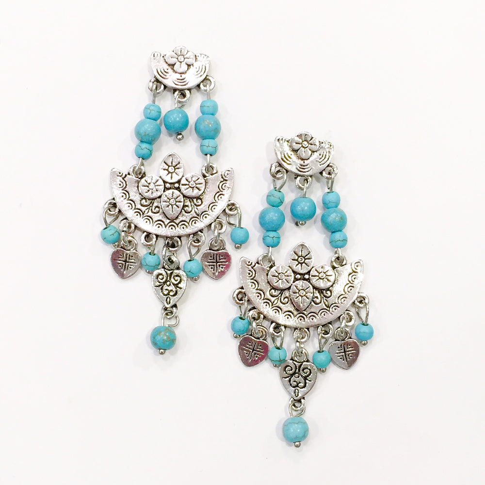 Turquoise Aurora Earrings