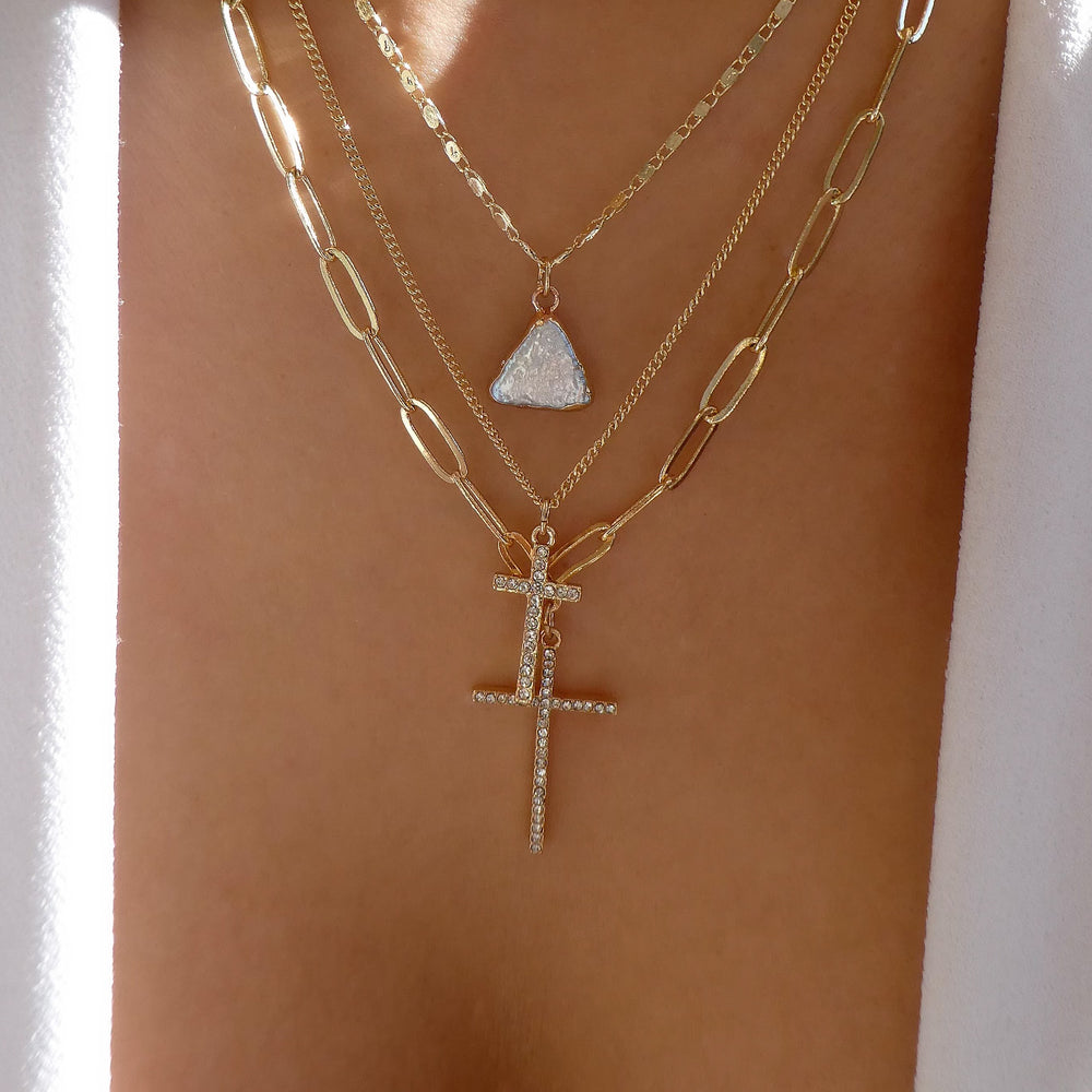 Rita Cross Necklace