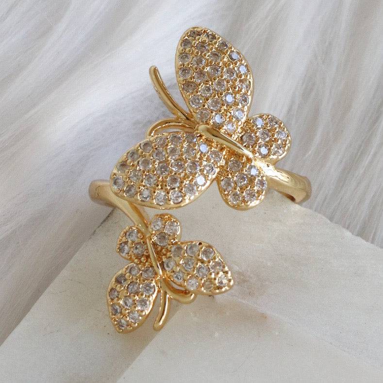 Kiana Butterfly Ring