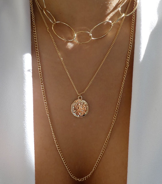 Alicia Coin Necklace