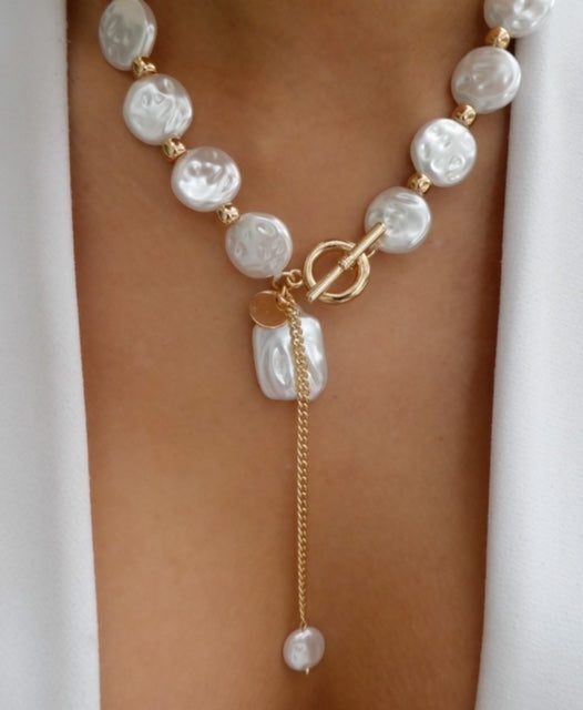Desta Pearl Necklace