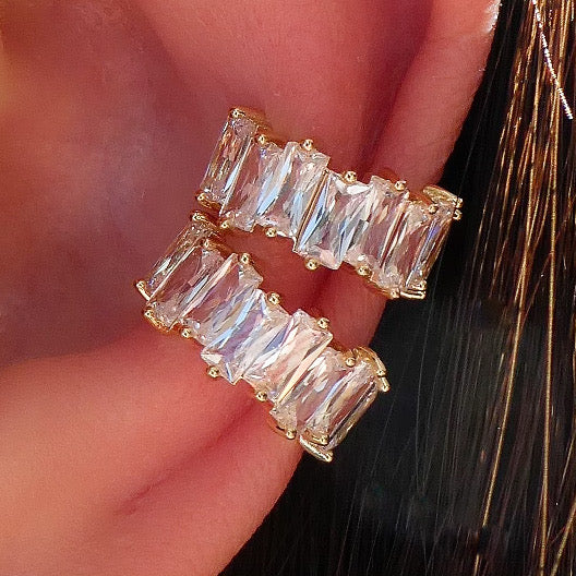 Crystal Tommy Ear Cuff Set