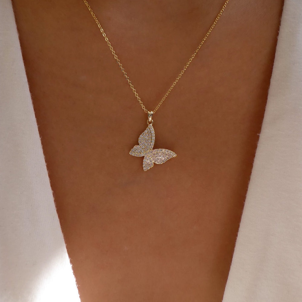 Anna Butterfly Necklace
