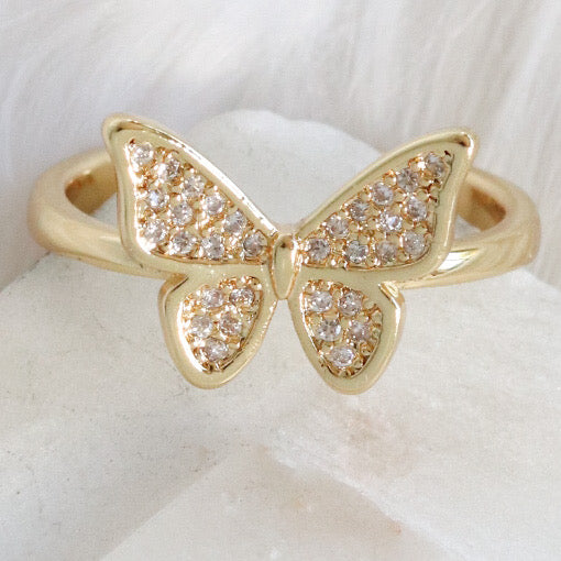 Fifi Butterfly Ring