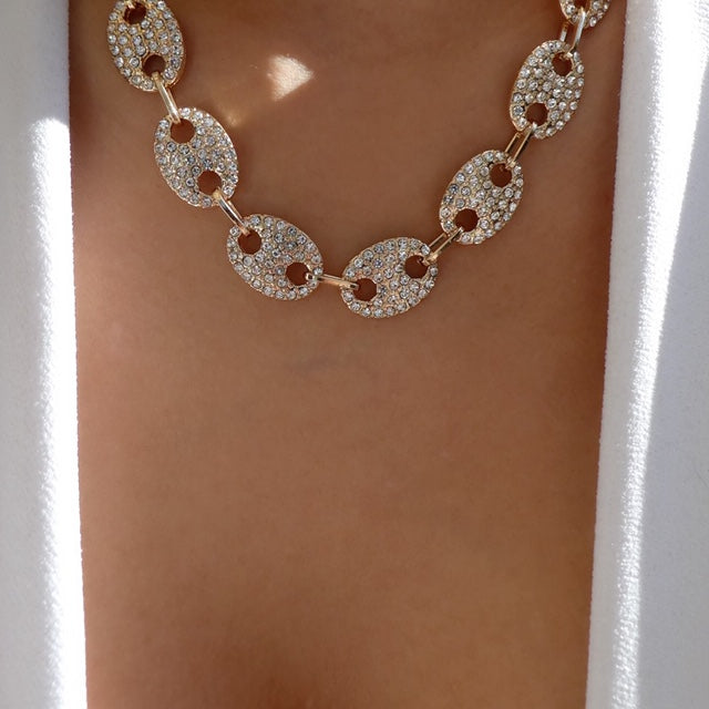 Crystal Holli Necklace