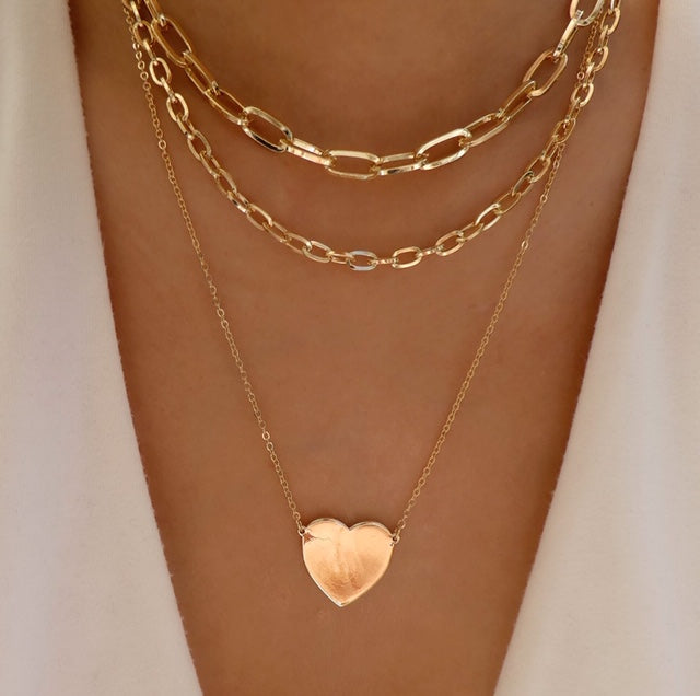 Margot Heart Necklace