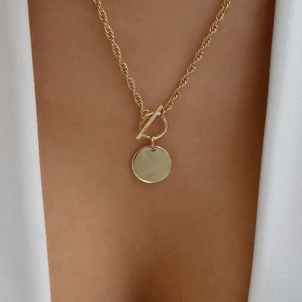 Janie Coin Necklace