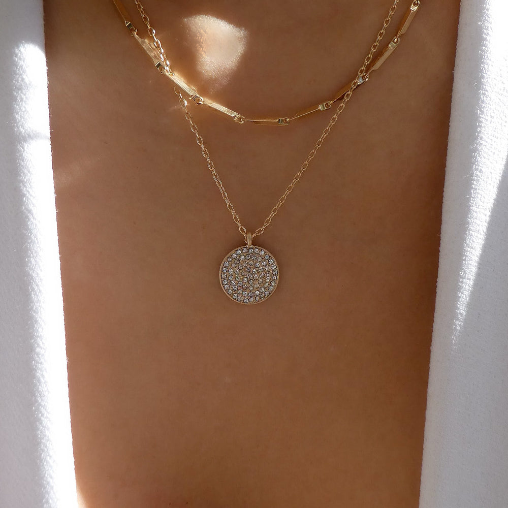 Cava Coin Necklace