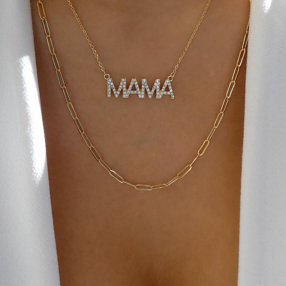 Mama & Link Necklace