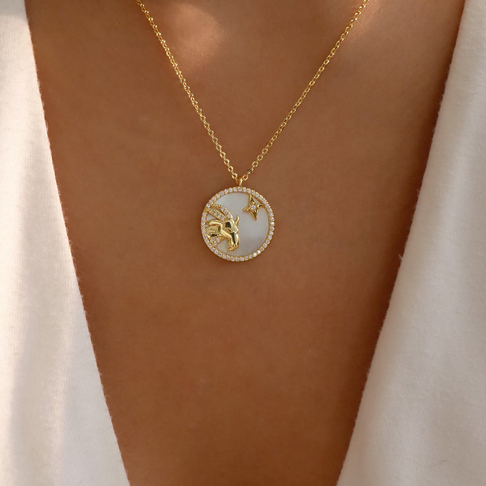 Ali Zodiac Necklace (Aries)