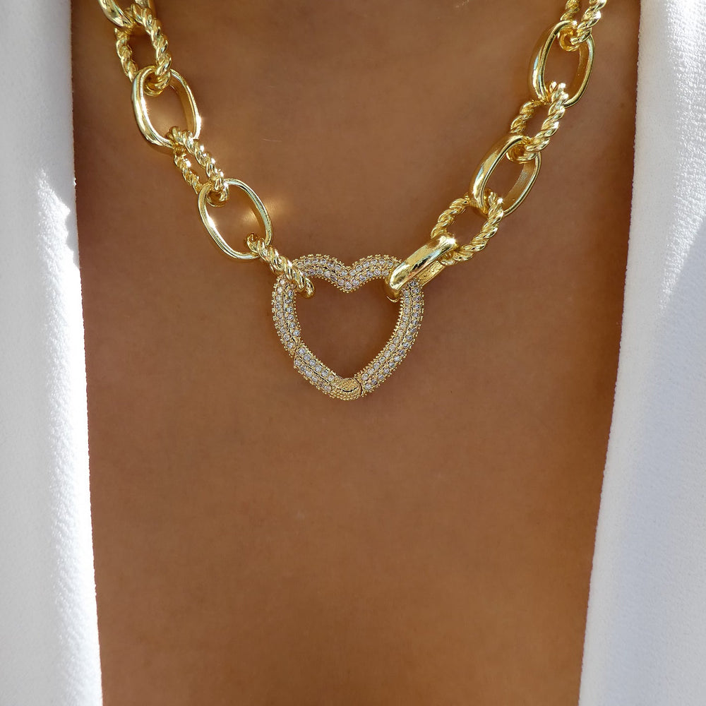 Diana Heart Necklace