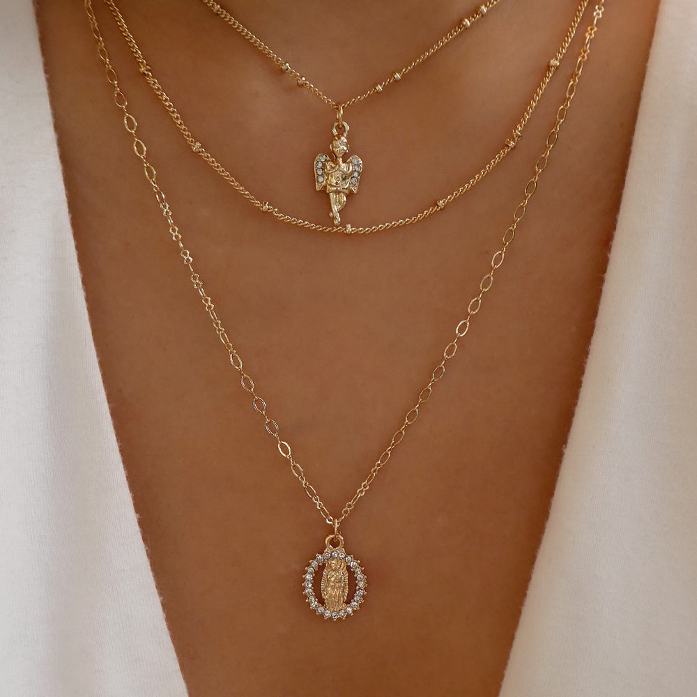 Selita Coin Necklace Set