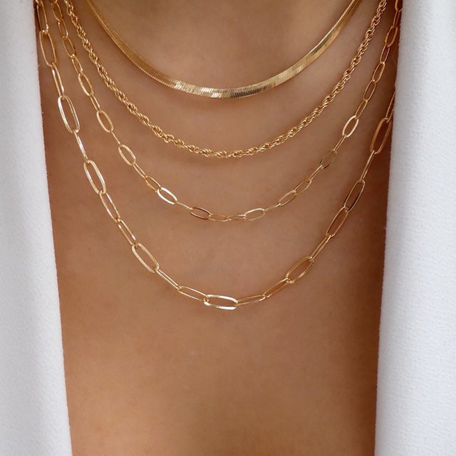 Lana Chain Necklace Set