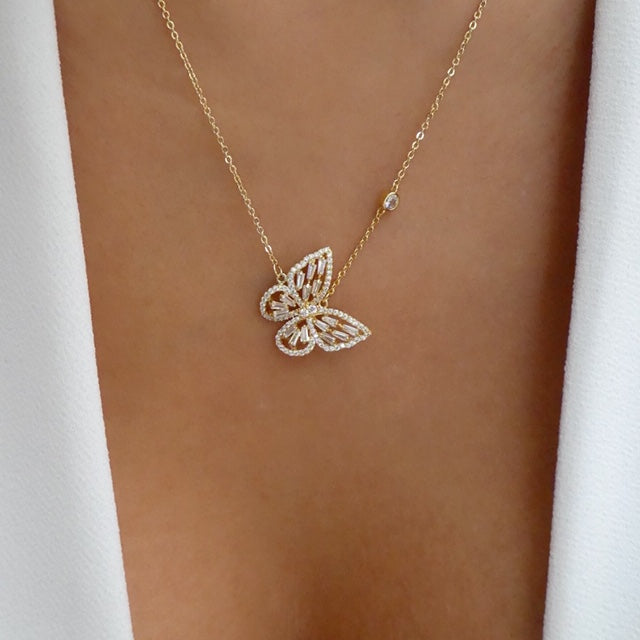 Yara Butterfly Necklace