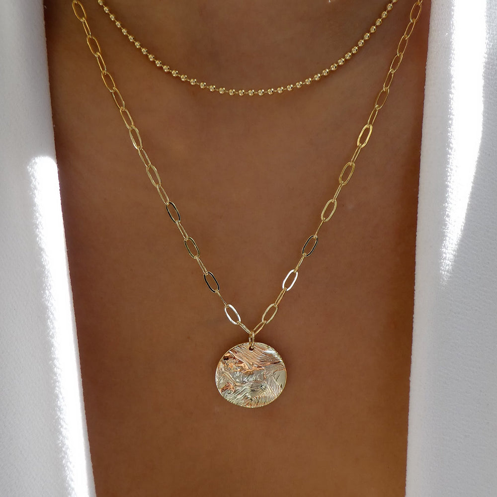 Eva Coin Necklace Set