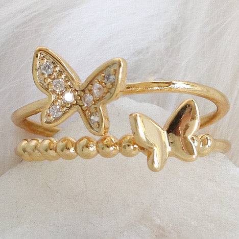 Daria Butterfly Ring