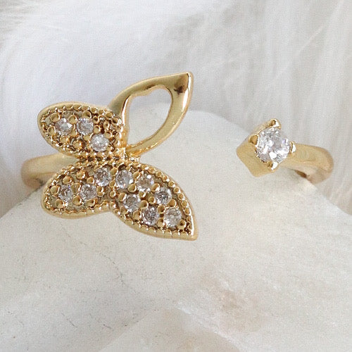 Gloria Butterfly Ring