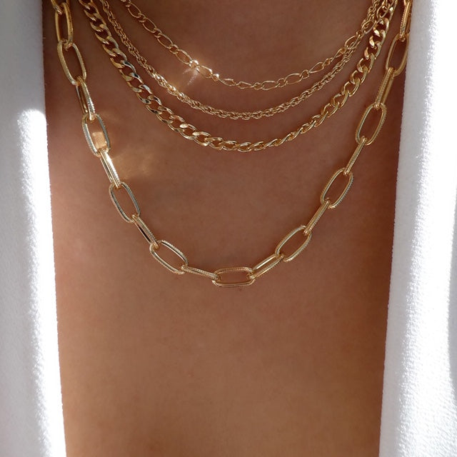 Brodie Chain Necklace Set