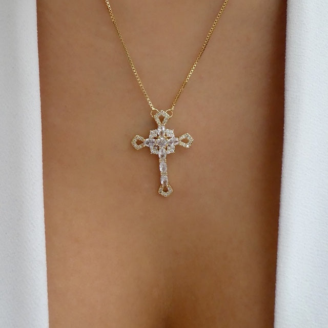 Ally Cross Necklace