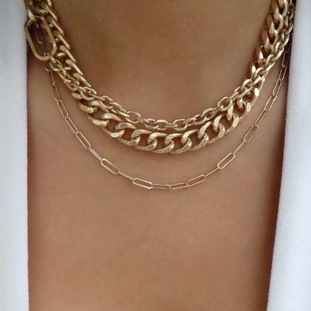 Cesar Link Necklace