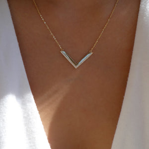The V Necklace