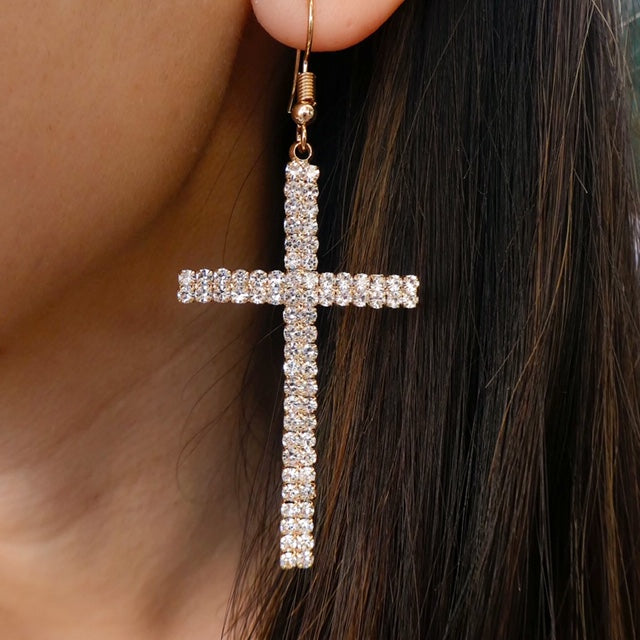 Eden Cross Earrings