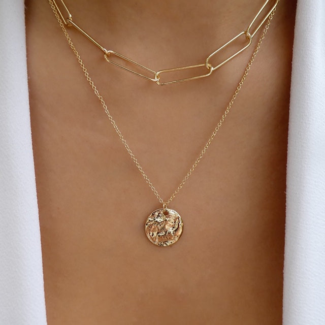 Maxina Coin Necklace