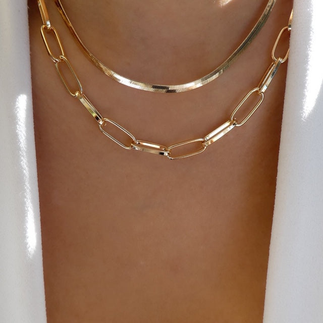 Derrick Chain Necklace Set