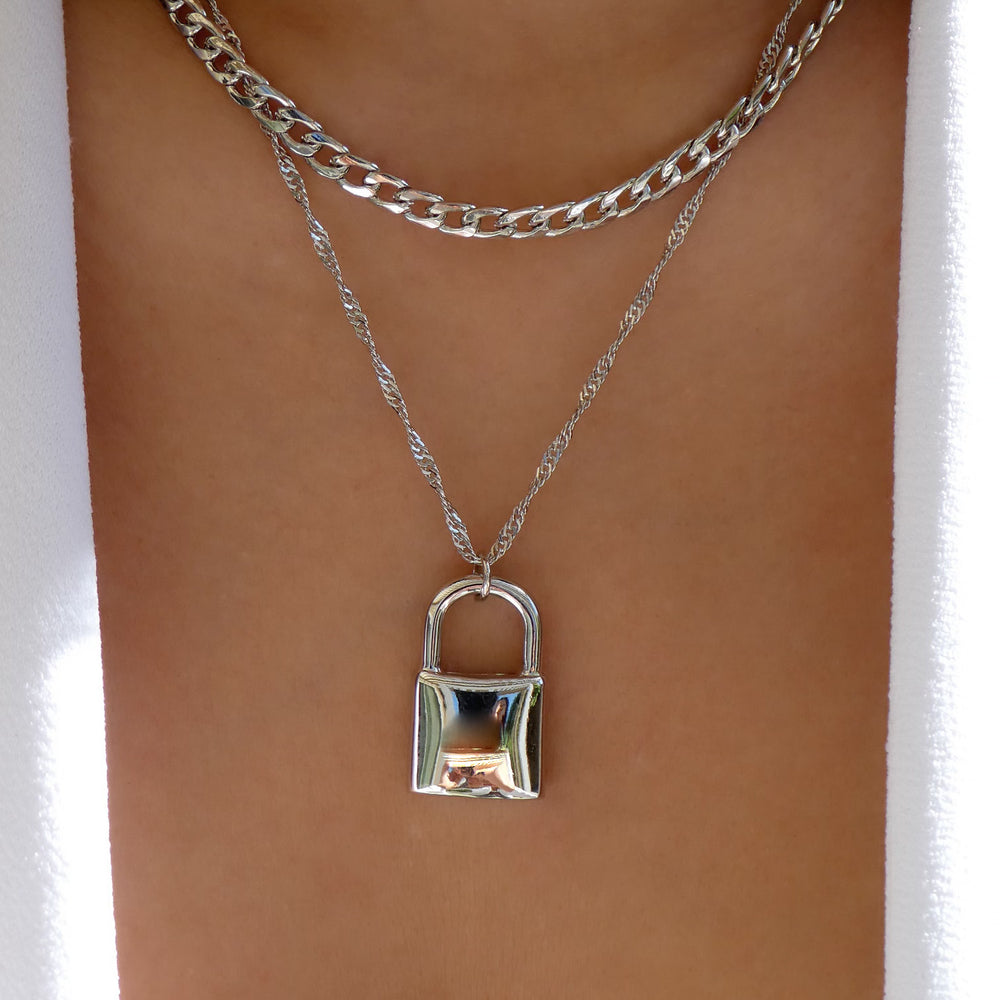 Hilo Lock Necklace