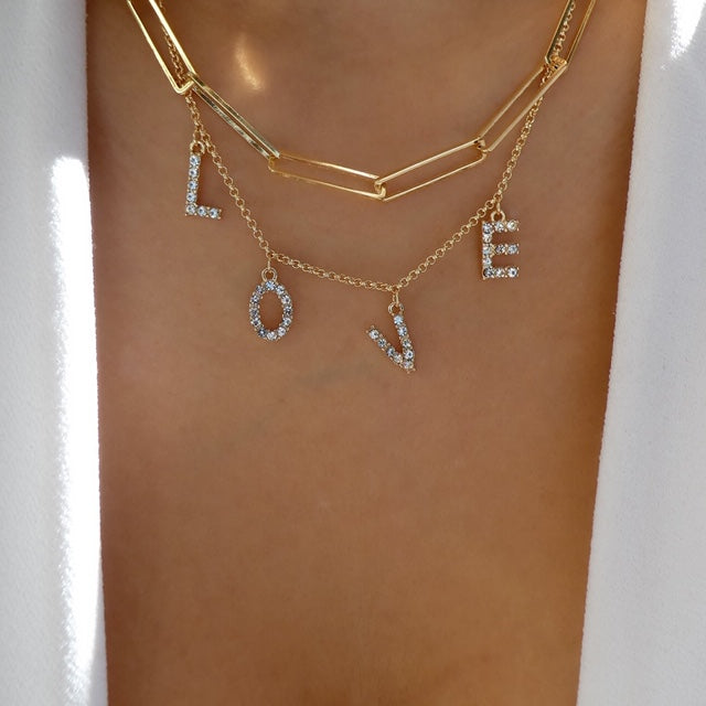 Love & Chain Necklace