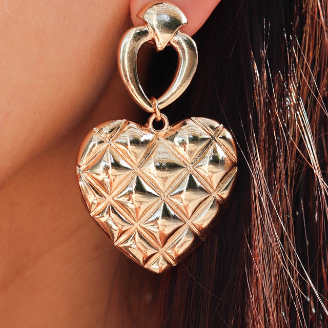 Serenity Heart Earrings