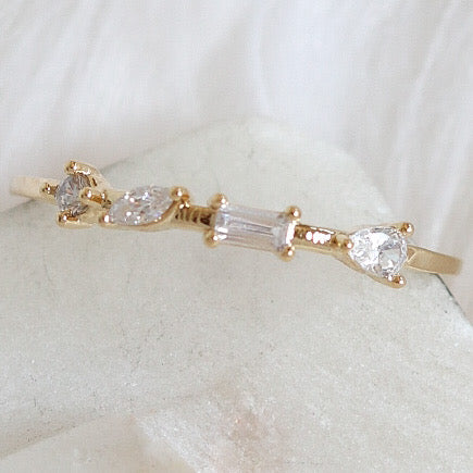 Crystal Maggie Ring