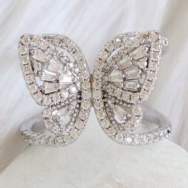 Talco Butterfly Ring (Silver)