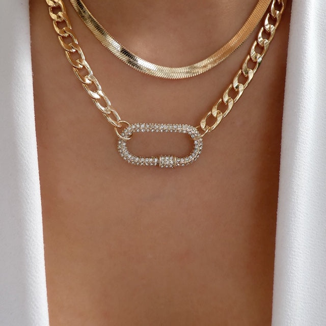 Huxley Link Necklace Set