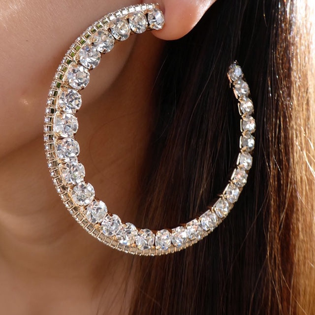 Crystal Hayley Hoops