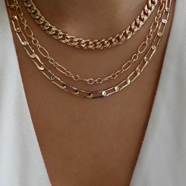 Imogene Chain Necklace Set